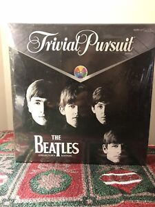 "Trivial Pursuit "" The Beatles"" edition. New. Sealed"