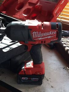 Milwaukee 18v  fuel cell  3/4""