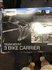 Reese 3 bike trunk rack brand new