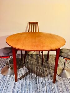 table scandinave teck VINTAGE teak scandinavian table