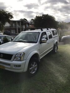 Holden Rodeo LT 4WD 2004 Model Dual Cab Ute, May Swap