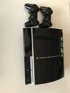 PS3+PS3 Games+2controllers