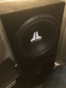 "JL Audio 15"" subs in ported box"