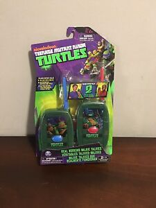 Ninja Turtles Walkie Talkies Brand New