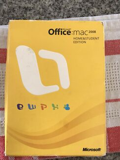 Microsoft Office Mac 2008 (2 Licenses for sale)