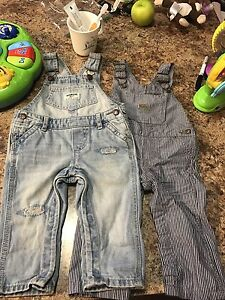 6-9 month unisex overalls, new condition