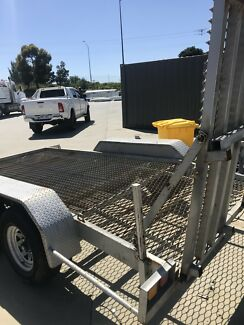 Excavator trailer  car trailer