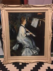 Oil Painting of Monet