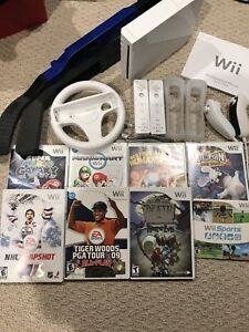Nintendo wii with tons of accessories and games