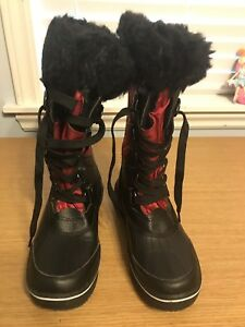 Snow winter boots for ladies size 7