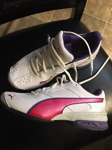 Youth girls puma running shoes