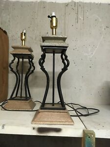 Two lamps in working condition $30