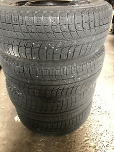 195/ 65 R15 Winter Tires used on 2017 Hyundai Elantra