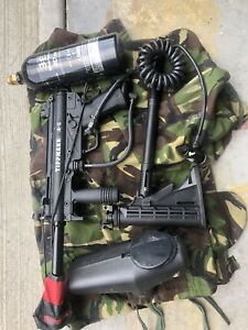 Full paintball set up