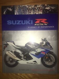 Suzuki GSX-R Motorcycle Book - mint