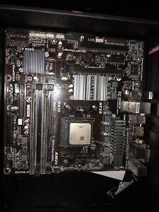 FX-6300 CPU, 16 gigs ddr3 RAM, cpu cooler, and motherboard