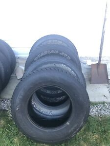 Tires 265/70 R 17 mud and snow tires