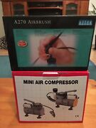 Astek A270 Airbrush and Mini Compressor Caroline Springs Melton Area Preview