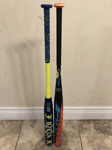 2018 softball bats miken freak 23 and Easton fireflex