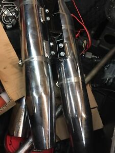 Stock Harley pipes