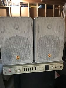 PC Amp TC 1490 Stereo Amplifier/Speakers