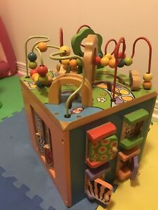 A bunch of baby and toddler toys for sale