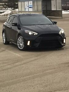 take over my financing on my Focus Rs 2017