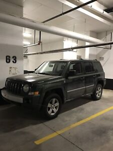2008 Green Jeep Patriot