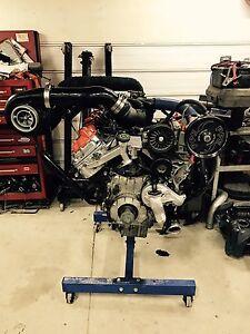 WC Fab S475 over stock twin turbo kit