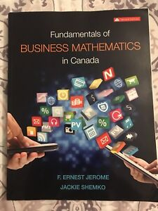 Fundamentals of Business Mathematics in Canada (Second Edition)
