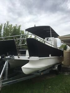 Deck boat 6m Eagle catamaran