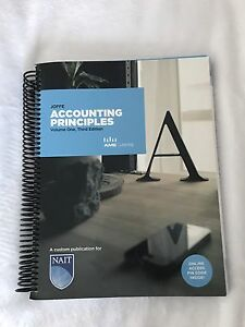 Accounting Principles Volume One, Third Edition ACCT1115