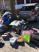 Yard sale..everything must go!!
