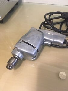 Old electric drill