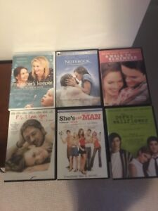 DVDS, blue ray & tv shows