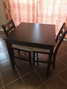 2 Seat Dining Table & Chair