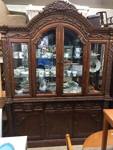 Ornate display / china cabinet