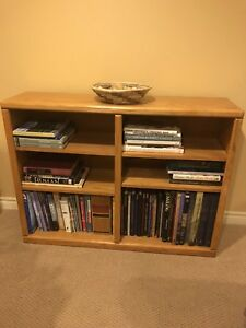 Oak Side Tables, Oak Book shelves