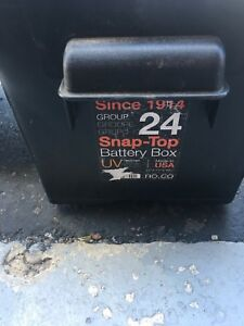 RV Battery Boxes