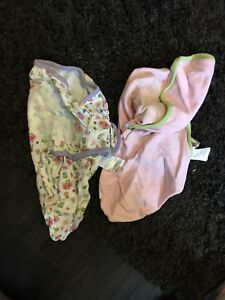 Size small baby sleep sacks