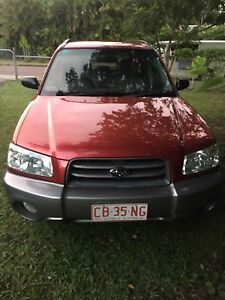 2003 Subaru Forester Wagon Moil Darwin City Preview