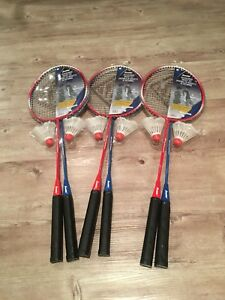 NEW Badminton Racket Sets x3
