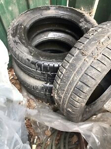 4  tires without rims size is 185/ 65 R 14