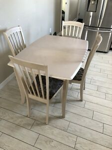 6 chairs kitchen table