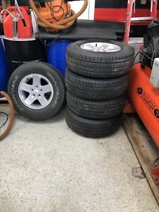 Tires 255/75/17