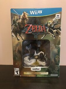 Brand new factory sealed Twilight Princess amiibo bundle WIIU