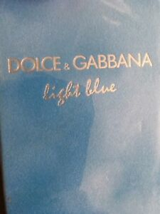 DOLCE GABBANA Light Blue WOMANS body cream