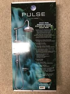 Shower System - Stainless Steel
