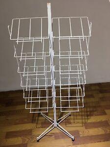 Display rack stand for store - présentoir pour magasin