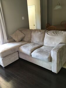 Couch with matching chair & ottoman